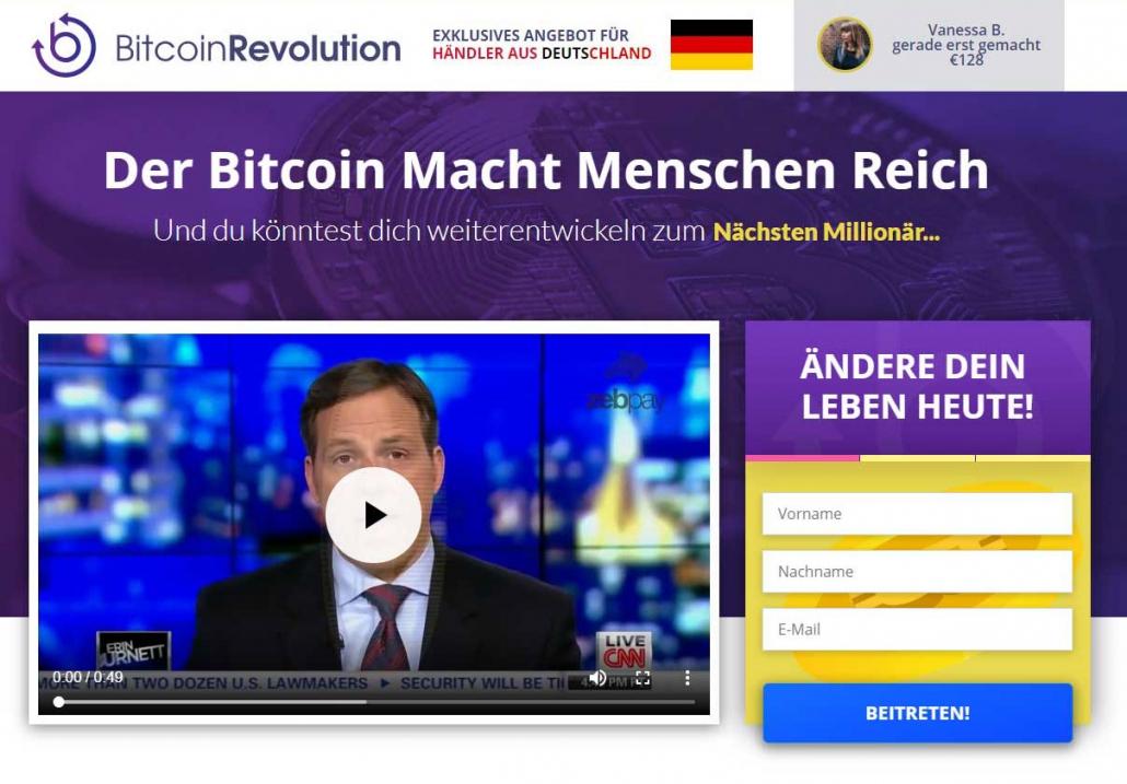 Bitcoin Revolution Erfahrungsbericht